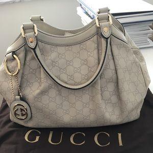 Gucci Sukey Leather Handbag - Authentic